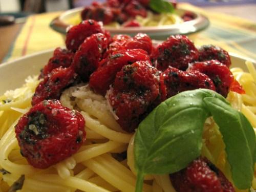 פסטה עם עגבניות