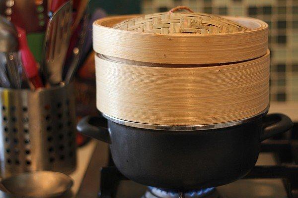 כלי אידוי מבמבוק