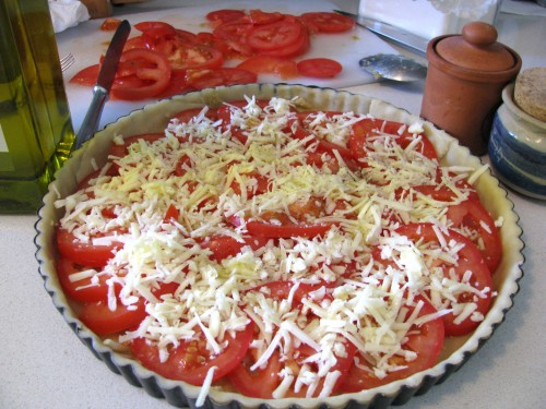 טארט עגבניות
