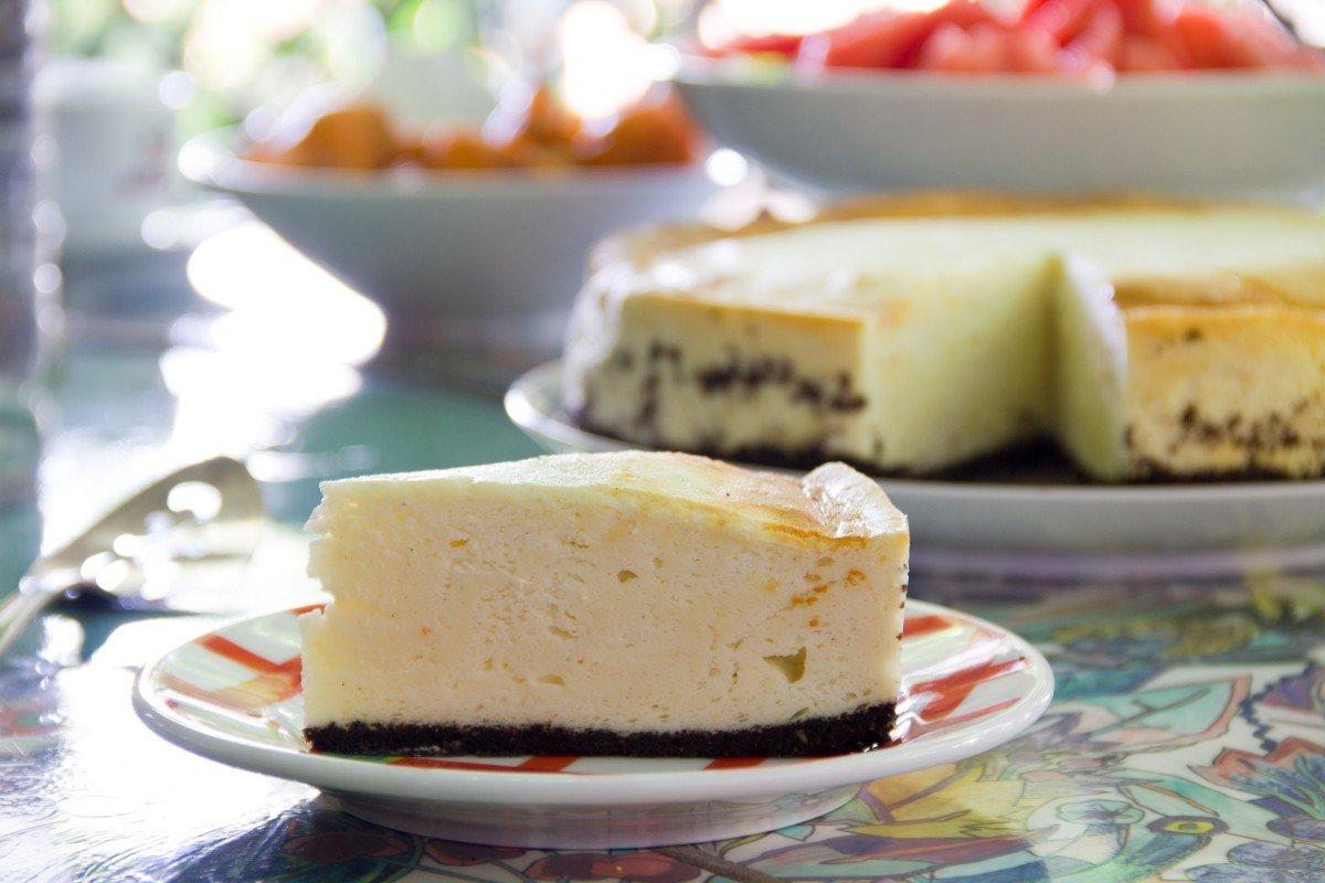 עוגת גבינה אפויה דיאטטית