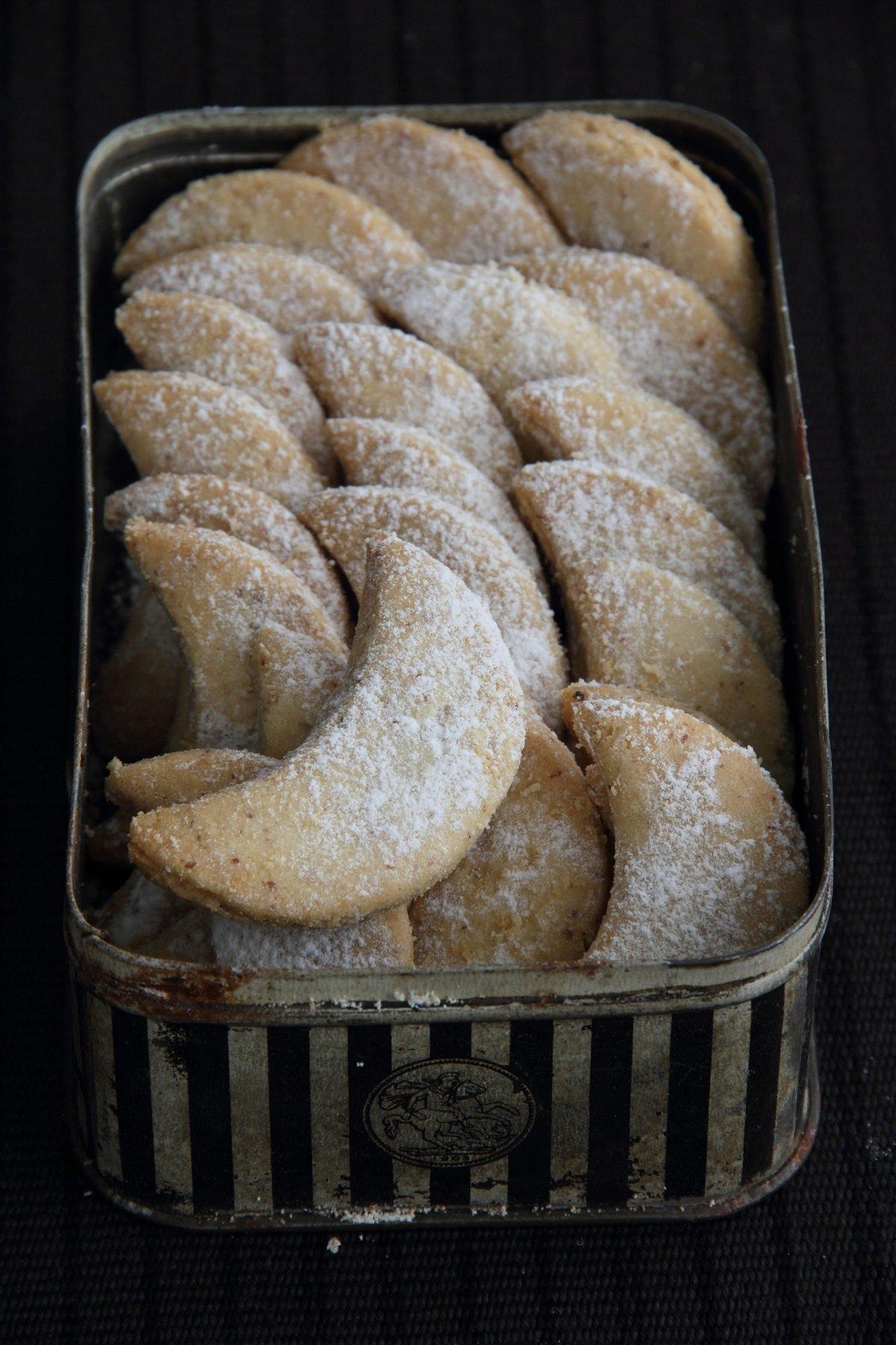עוגיות חמאה ושקדים